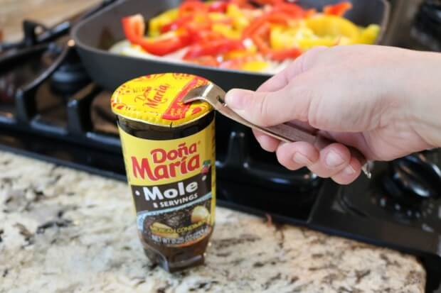 Serve with Mole