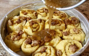 Caramel Walnut Sweet Rolls