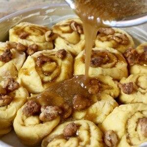 Easy Recipe: Caramel Walnut Sweet Rolls from Scratch