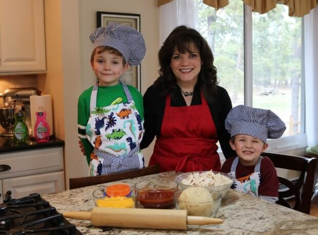 Cooking with my kids - Easy Recipe: Shredded Chicken Empanadas from Scratch