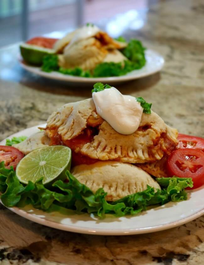 Mouthwatering and cheesy! Easy Recipe: Shredded Chicken Empanadas from Scratch