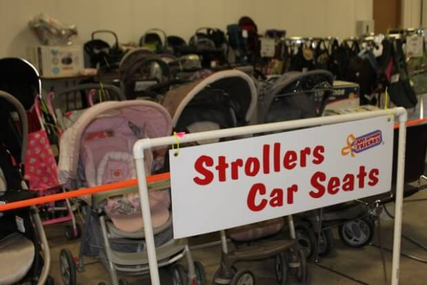 Strollers and Car Seats for Sale at JBF - Price Items for a Consignment Sale