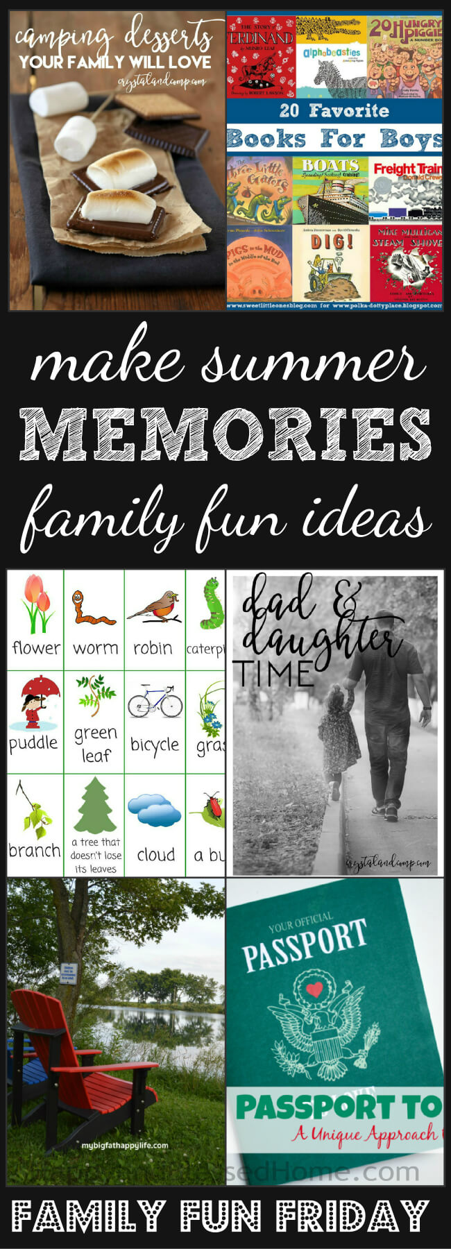 FUN Family Fun Friday - Make Summer Memories with these Family Fun Ideas - roundup by HappyandBlessedHome