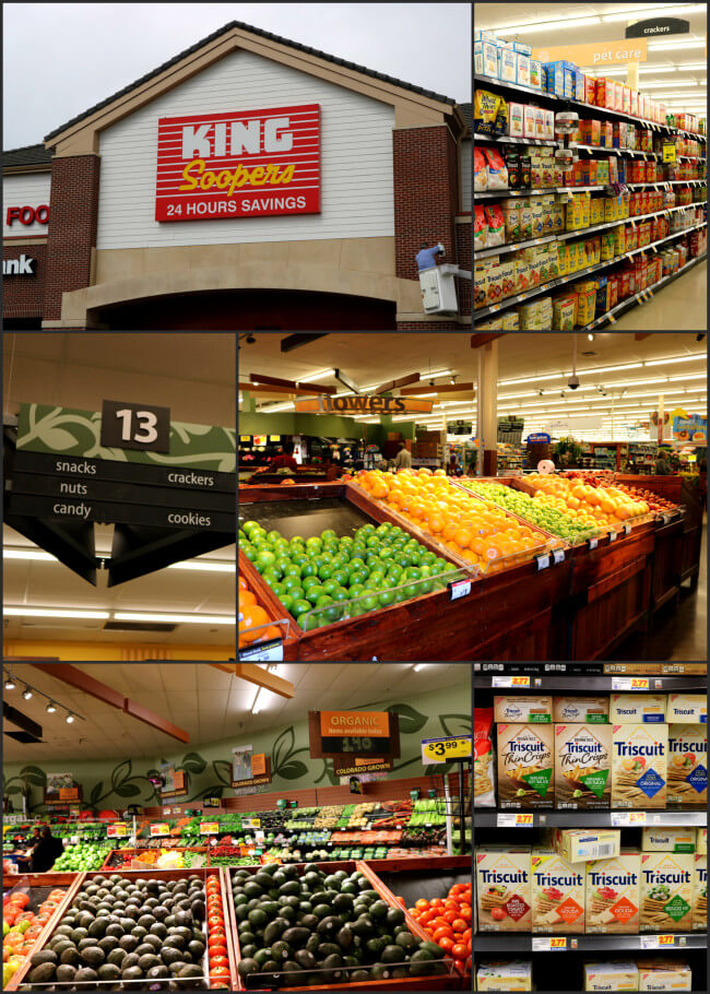 Find loads of fresh veggies and fruits at King Soopers
