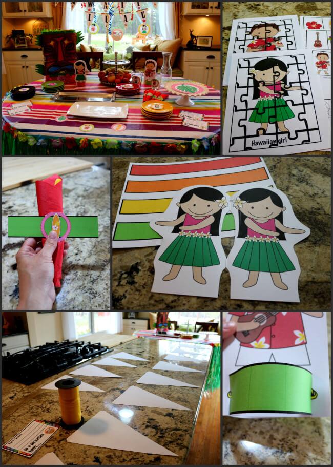 How to plan a Hawaiian Luau Party Tutorial