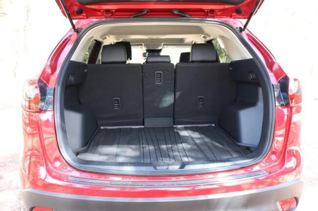 Mazda CX-3 Test Drive with ample rear storage
