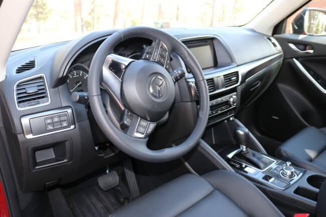 Mazda CX-3 Test Drive Driver's Seat