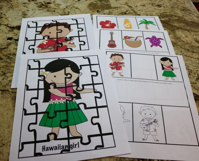 Outstanding Party Tutorial plus 50 Page Hawaiian Luau Party Pack and an easy Hawaiian Grilled Summer Vegetables Recipe