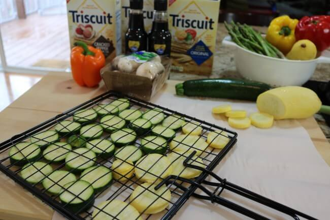 Use a Grill Basket to make this easy Hawaiian Grilled Summer Vegetables Recipe