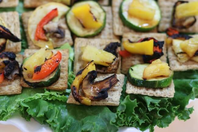 The flavor of Summer with this easy Hawaiian Grilled Summer Vegetables Recipe