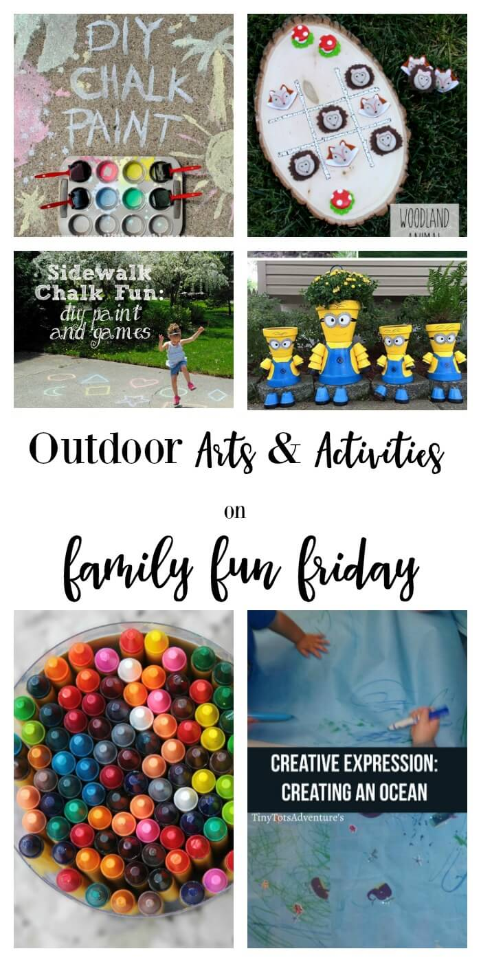 Outdoor Arts and Activities on Family Fun Friday
