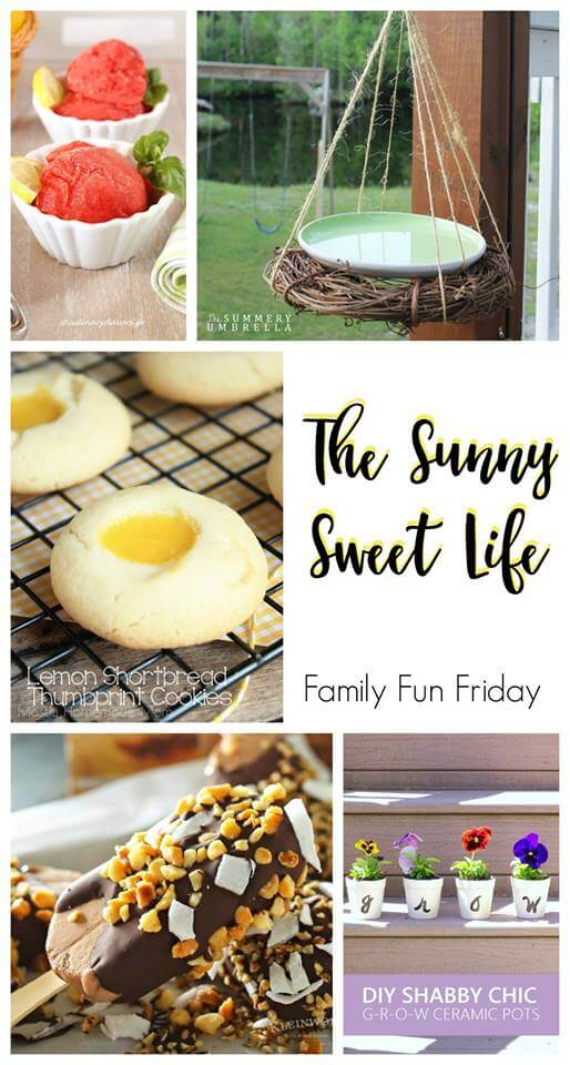 The Sunny Sweet side of Life at Family Fun Friday