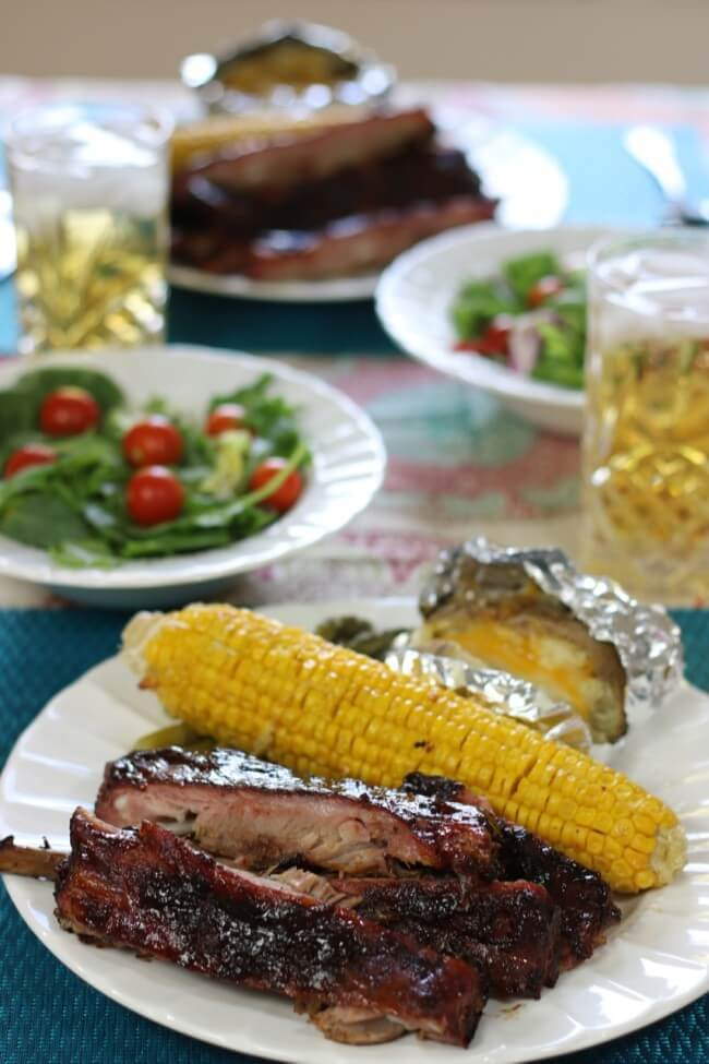 Great with grilled corn and potato - 5 Tips for Fall-off-the-bone BBQ Ribs