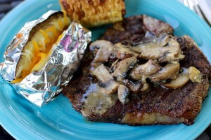 Garlic Mushroom Sauce Recipe and Grilling Tips