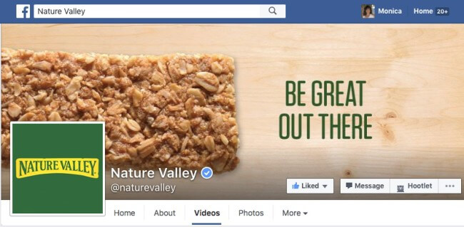 Nature Valley on Facebook