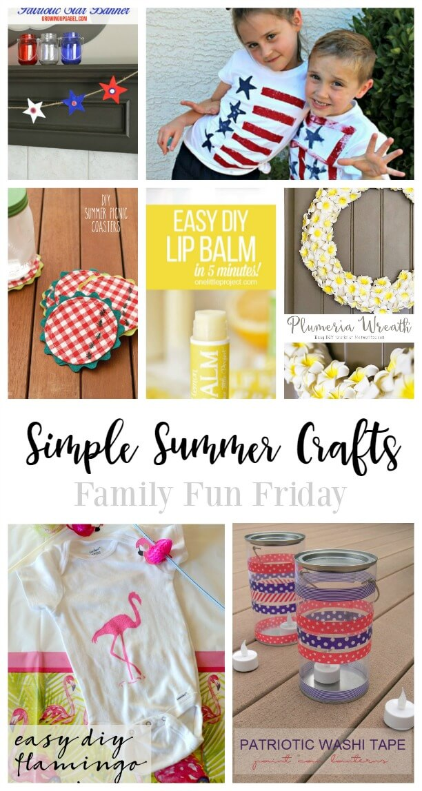 Simple Summer Crafts