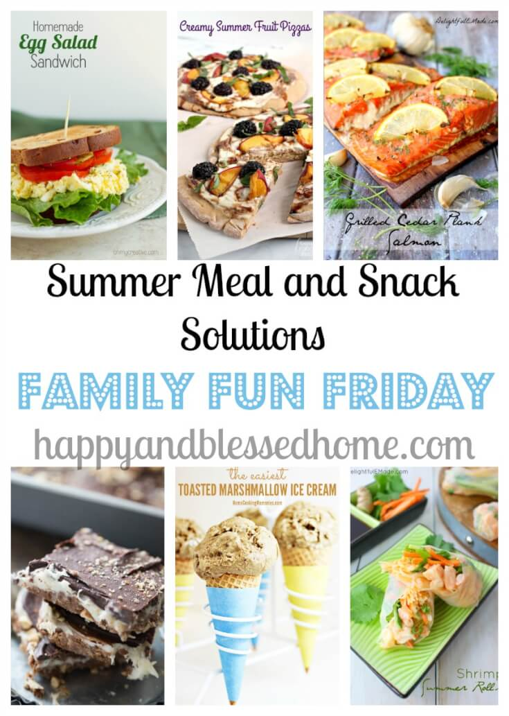Summer mealtime solutions