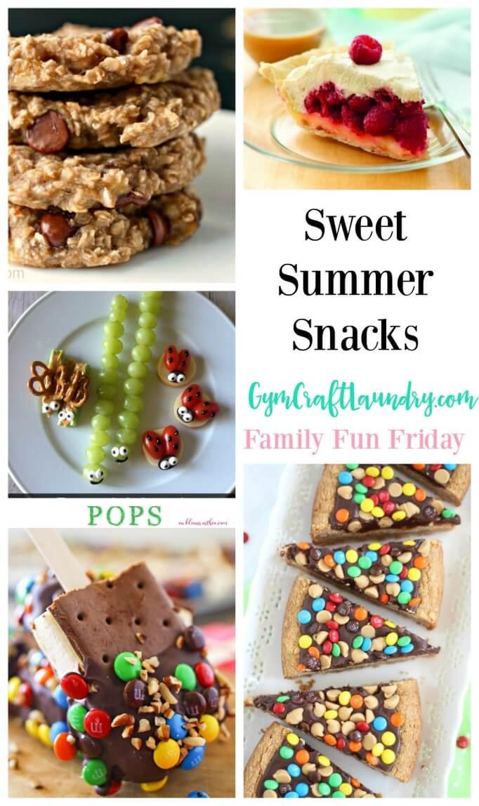 Sweet Summer Snacks