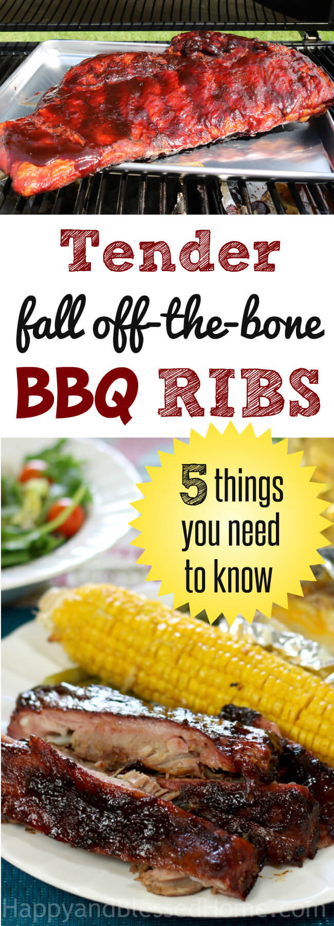 Tender fall-off-the-bone BBQ Ribs - 5 Important Things You Need to Know