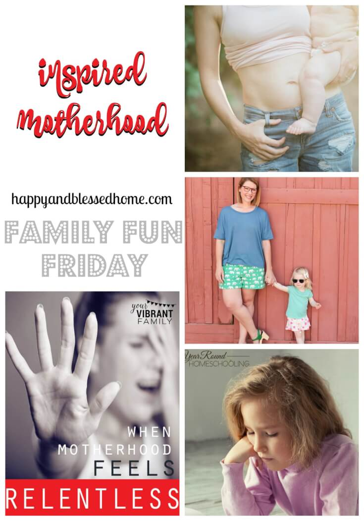 inspired motherhood on family fun friday