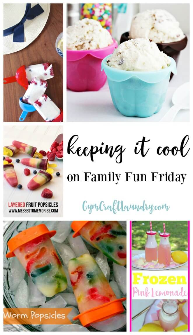 keeping it cool on Family Fun Friday