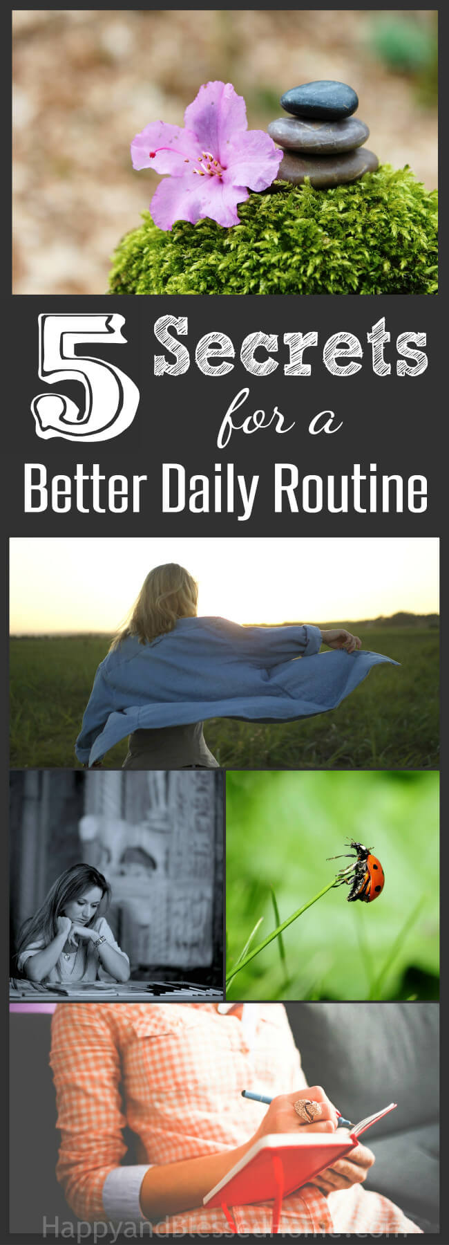 5 Secrets for a Better Daily Routine - practical advice for moms