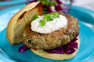 Blue Apron Maryland-Style Cod Cake Sandwiches by HappyandBlessedHome.com