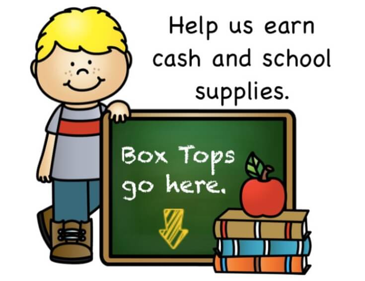 Box Tops Go Here
