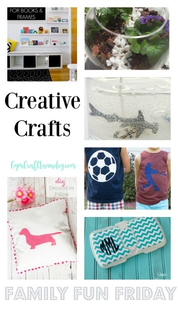 Cute Creative Crafts on Family Fun Friday