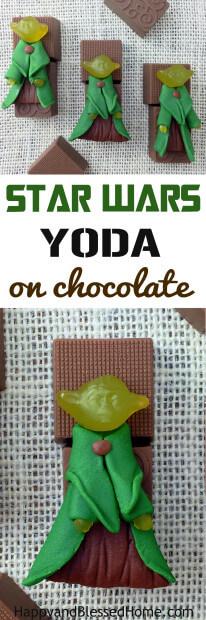 DIY Tutorial to create STAR WARS YODA on Chocolate