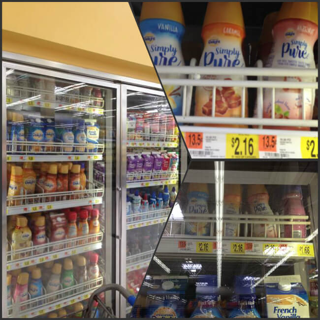 Find Simply Pure Coffee Creamer at Walmart in the Dairy Case