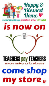 Follow my store on Teachers Pay Teachers - HappyandBlessedHome.com