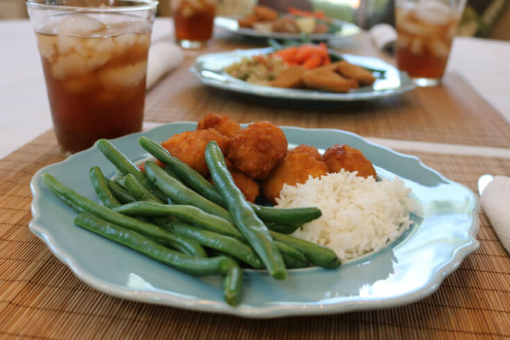 Green beans a perfect side for 7 Dishes in 22 Minutes or Less