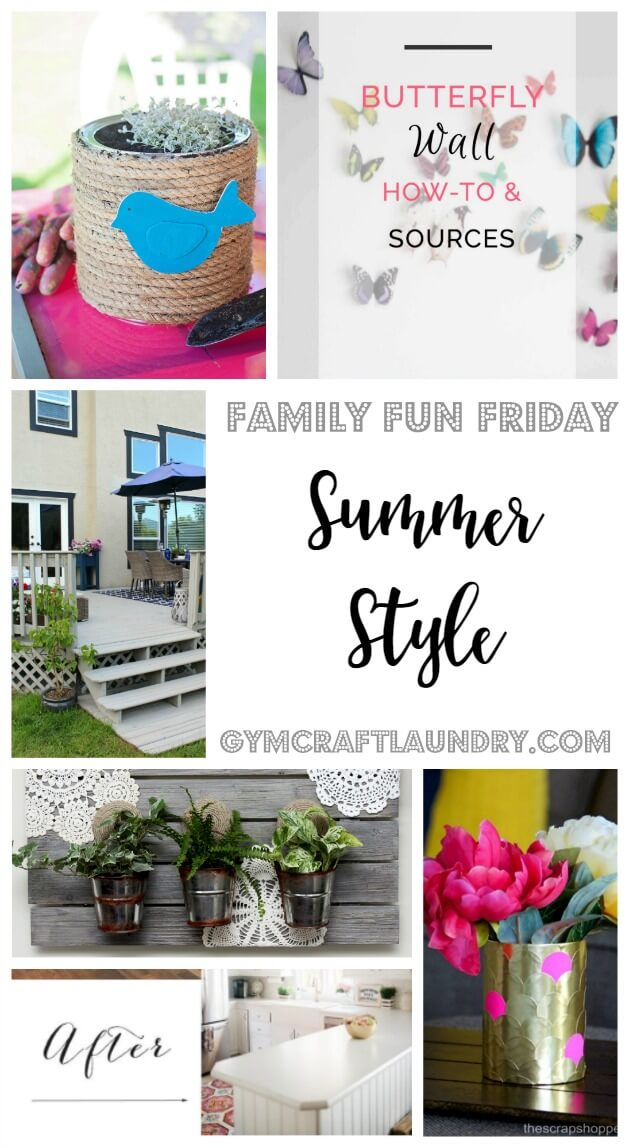 Summer Style on Family Fun Friday