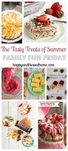 The Tasty Treats of Summer on Family Fun Friday