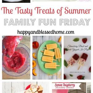 Tasty Treats on Family Fun Friday