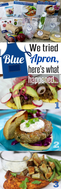 We tried Blue Apron and here is what happened - review by HappyandBlessedHome.com