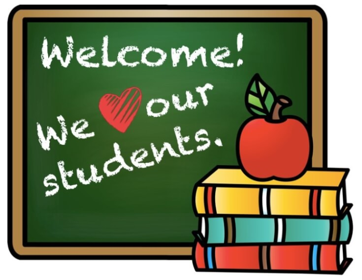 Welcome we love our students
