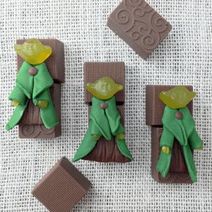 Star Wars Yoda on Chocolate Candy Treats DIY Tutorial