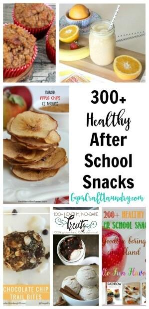 300 healthy after school snack ideas