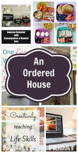 An ordered house on family fun friday
