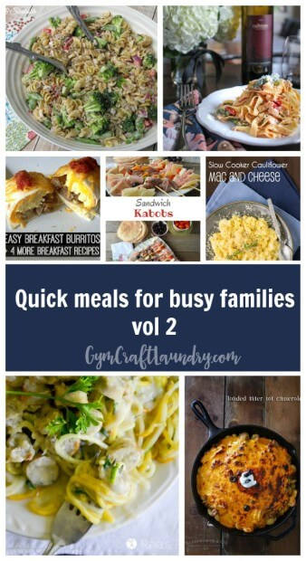 Easy Meals for Active Families vol 2