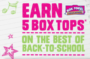 Easy Way to Earn Box Tops on the Best of Back to School
