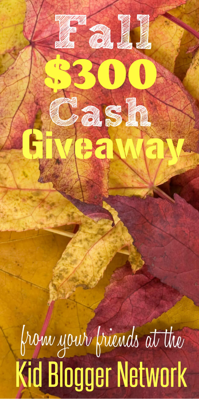 $300 Cash Giveaway and 20 FUN Fall Activities and Crafts for Families
