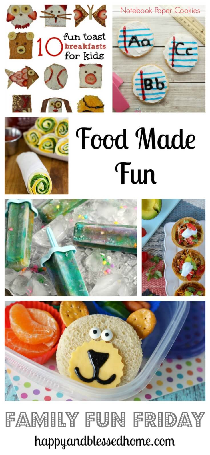 Food made fun on family fun friday