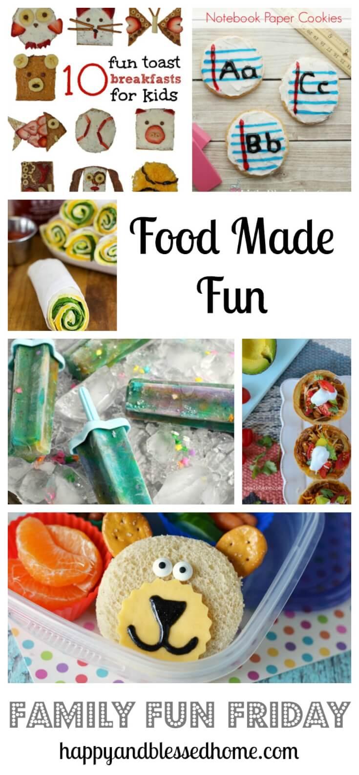 Food made fun on family fun friday