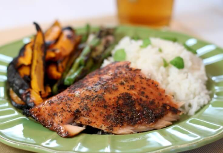 5 Tips for Easy Grilled Summer Veggies and Cedar Planked Salmon - Sweet and Spicy