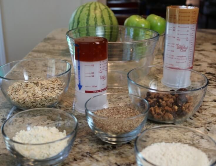 Ingredients for High Protein Energy Bites Recipe