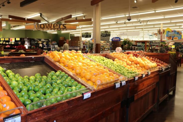 From the produce section at Kroger - 5 Tips for Easy Grilled Summer Veggies and Cedar Planked Salmon - Sweet and Spicy