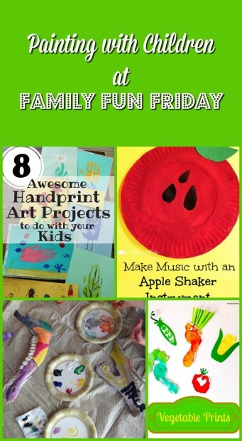 Painting-with-Children-at-Family-Fun-Friday
